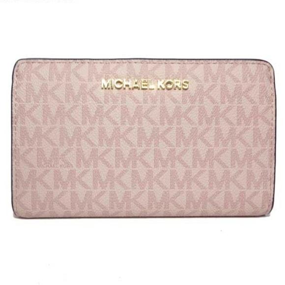 Michael Kors Handbags - Michael Kors Pink Bi Fold Wallet